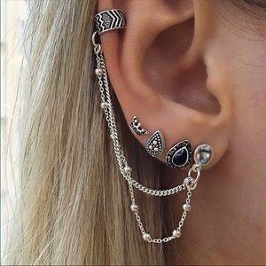 4 piece earrings